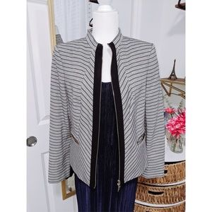 Tommy Hilfiger Blazer with Zipper and Pockets